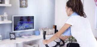 Motionscykel til hjemmebrug
