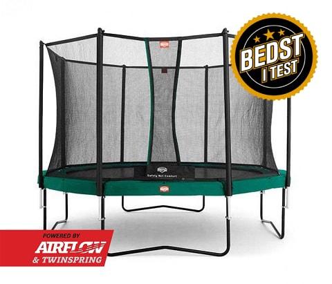 BERG Champion trampolin inkl. Comfort sikkerhedsnet (Bedst i test)