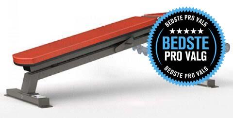Gymleco 100-Series Decline Bench justerbar træningsbænk (Bedste PRO valg)