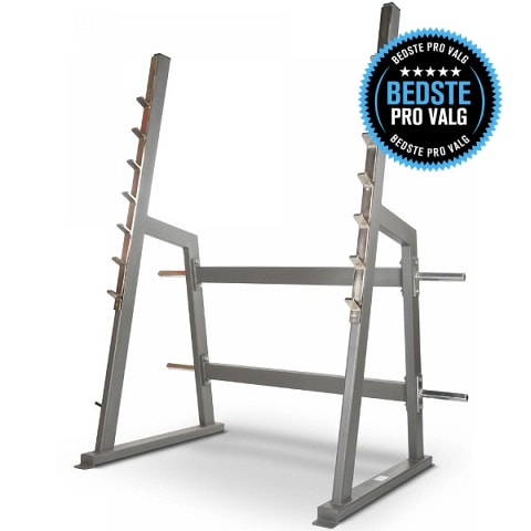 Gymleco 100 series Squat Rack (Bedste PRO valg)