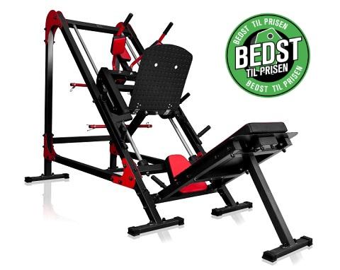 Marbo Sport u106 - Benpres og hack squat maskine (Bedst til prisen)